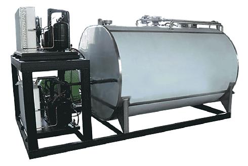 Резервуары-охладители молока