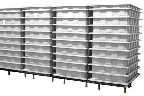 Оборудование для посолки сыра каскадным способом