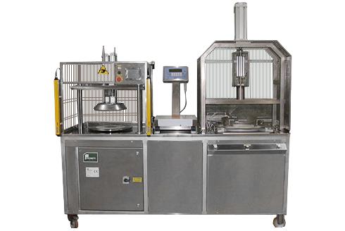 Машина для нарезки сыра LPR-02  на порции фиксированного веса с удалением сердцевины
