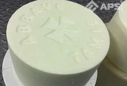 Нанесение логотипа на сыр
