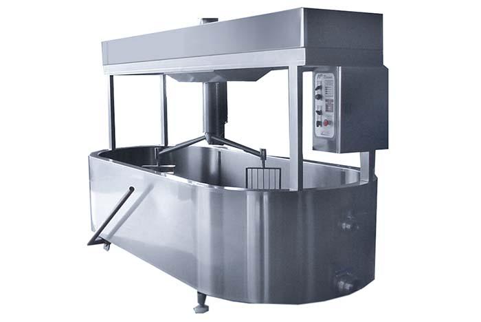 Сыродельная ванна для выработки сырного зерна
