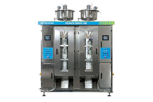 Автомат розлива упаковки молока и молочных продуктов