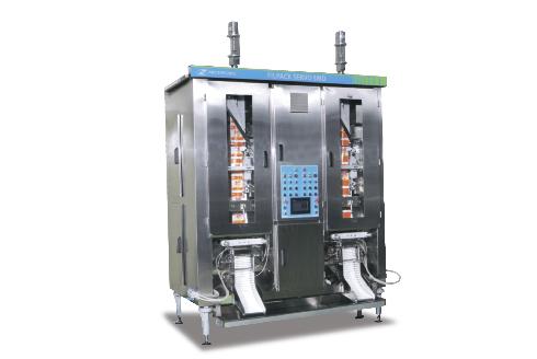 Автомат розлива молока на обоих ручьях Filpack Servo SMD