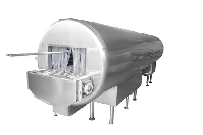 Оборудование для мойки и сушки микроперфорированных форм для сыра
