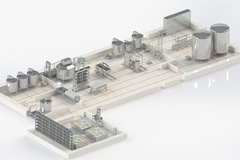 Проект молочного завода на 3 тонны