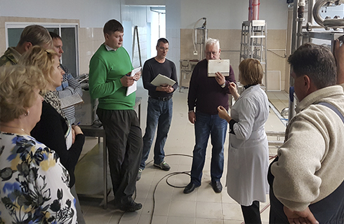 Обучение сотрудников работе на прессе