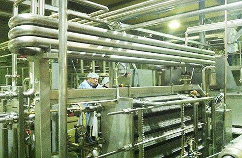 Обучение работы операторов на молочном заводе