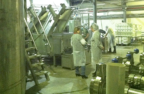 Обучение операторов на молочном заводе