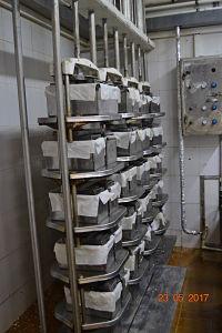 Было до модернизации сырного цеха, железные формы