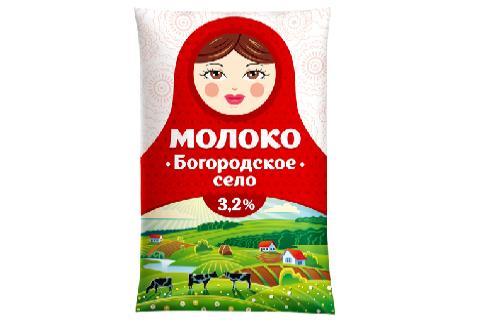 Пример упаковки молока на Filpack
