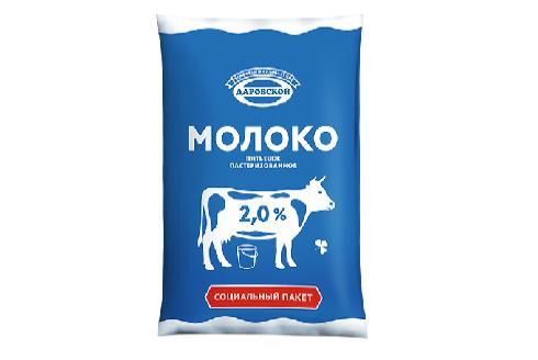 Упаковка молока в филпак