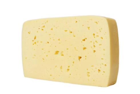 Получаемый брусок сыра