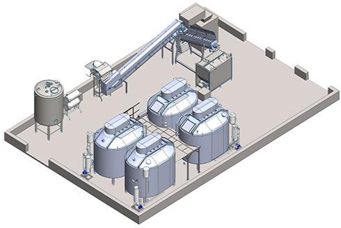 Механизированная автоматическая линия производства творога