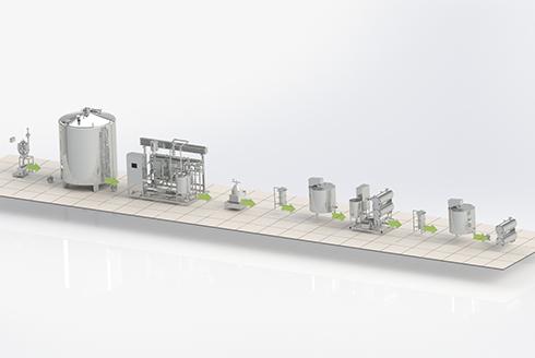 Проектирование линий производства сливочного масла