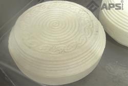 Сыр с нанесенным рисунком