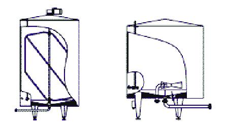 Схема емкостного оборудования