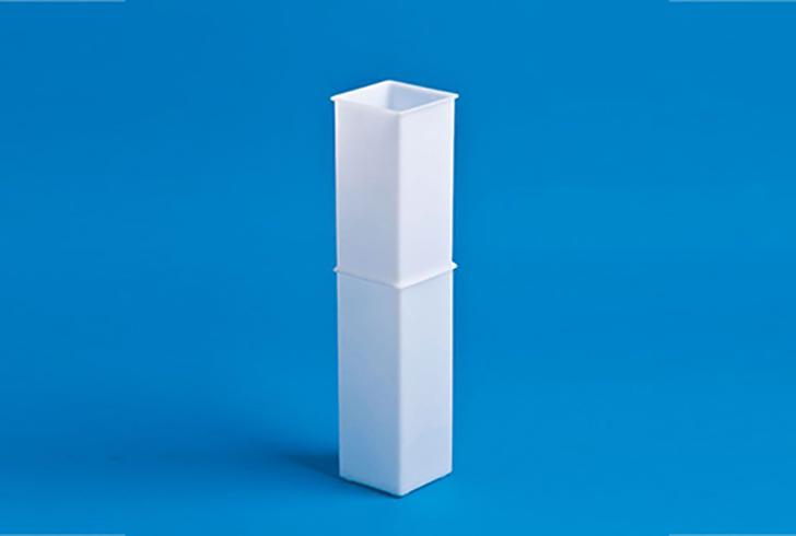 Двойная форма для сыра P00691, размеры 8х8 см, В=40 см, вес 2 кг