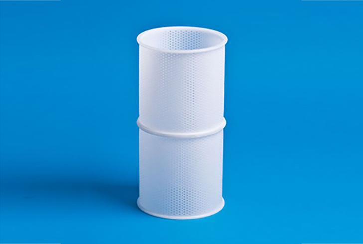 Литая форма P00008 с Д=15 см, В=32 см, вес по сыру 1500 гр.