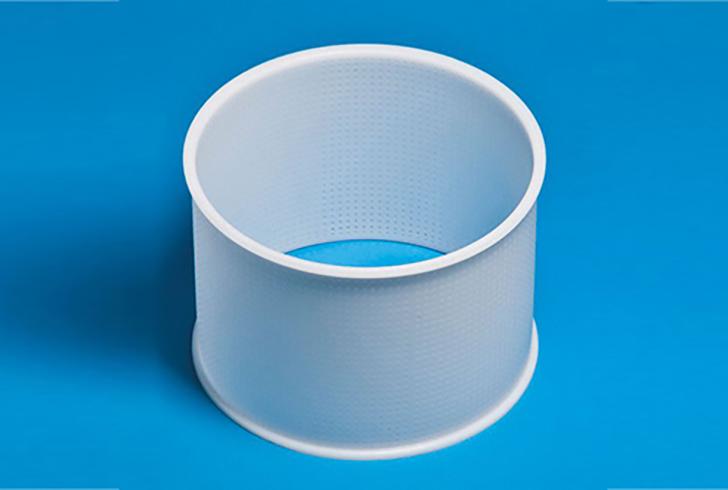 Форма P00010 с Д=15 см, В=32 см, вес по сыру 1500 гр.