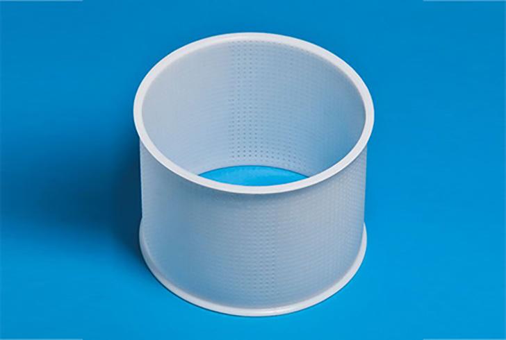 Форма P00012 с Д=20 см, В=16 см, вес по сыру 2500 гр.