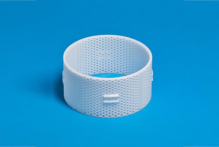 Форма P00728 с Д=12 см, В=8,5 см, вес по сыру 800 гр.