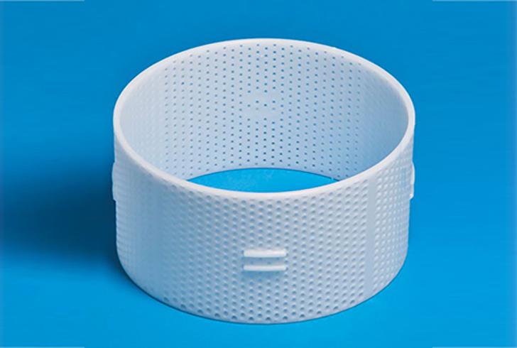 Форма P00732 с Д=18 см, В=8,5 см, вес по сыру 1800 гр.