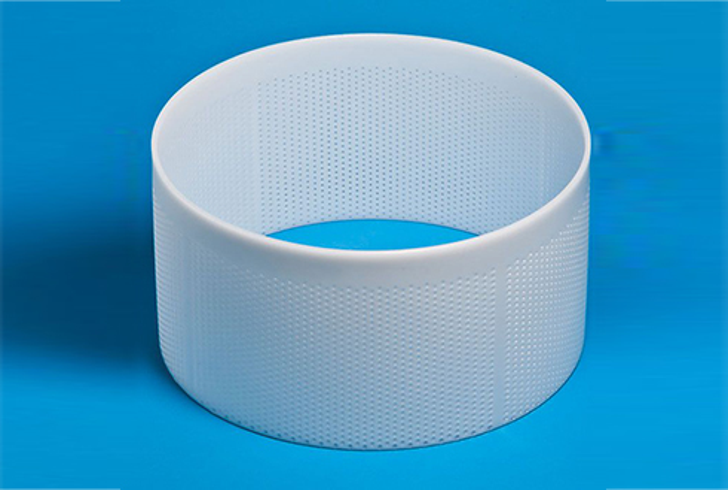 Форма P00775 с Дв=35,5, Дн=35, В=19 см, вес по сыру 10-15 кг.