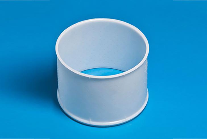 Форма P37310 с Дв=30, Дн=19,5, В=15 см, вес по сыру 2 кг.