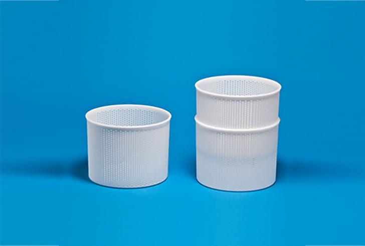 Штабельная форма P00662 с Дн=17,5, Дв=18,5, В=15,5 см, вес по сыру 2-3 кг.