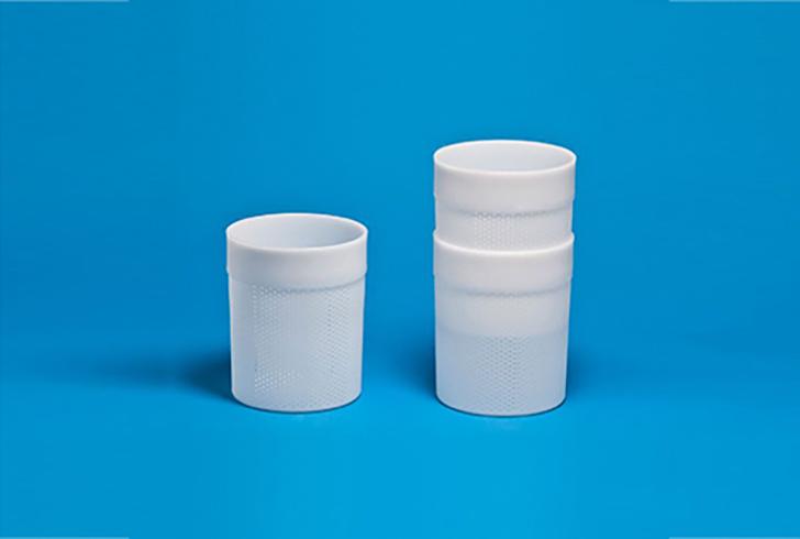Штабельная форма P00765A с Дн=15, Дв=16, В=20 см, вес по сыру 1,5-1,8 кг.