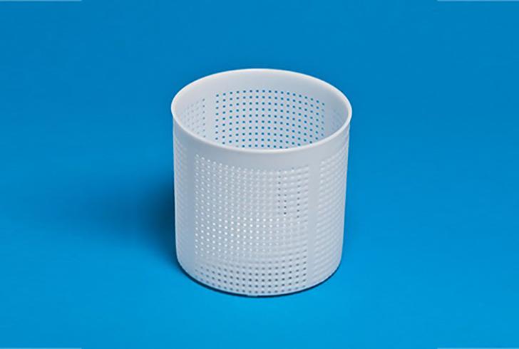 Форма для сыра P00601 с Дв=14,5 см, Дн=13,8 см, В=14 см, вес 1000 гр.