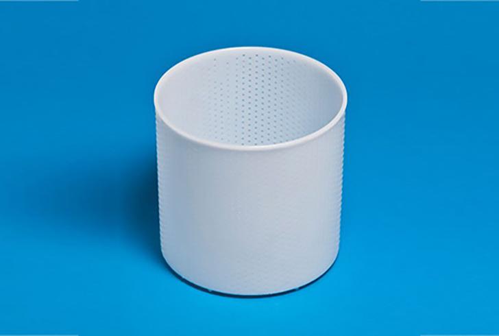 Форма для сыра P00603 с Дв=16 см, Дн=15,4 см, В=15,7 см, вес 1800 гр.