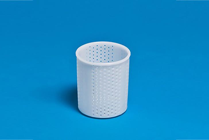 Форма для сыра P00604 с Дв=7,5 см, Дн=7 см, В=9 см, вес 200 гр.