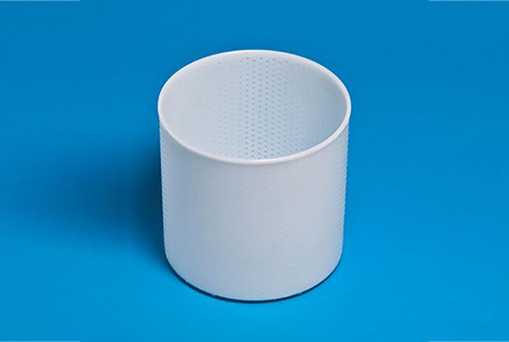 Фрома для сыра P00605 с Дв=18 см, Дн=17,5 см, В=9,2 см, вес 300/400 гр.