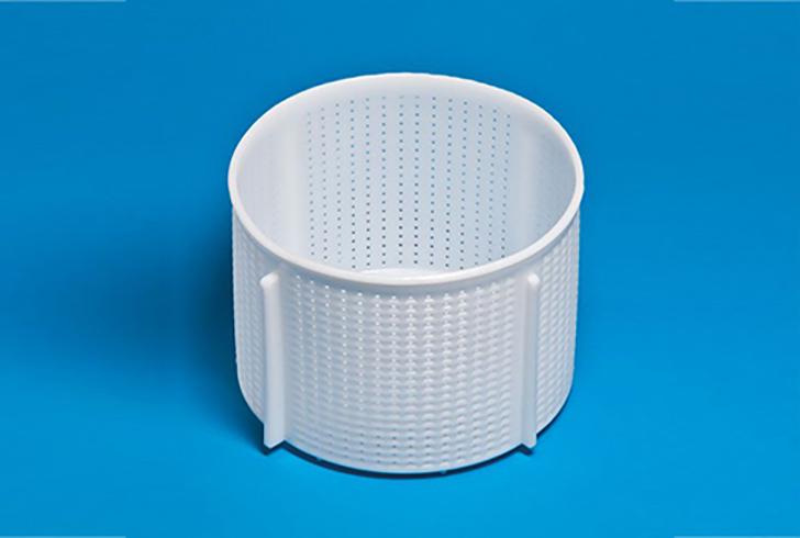 Форма для сыра P00607 с Дв=22 см, Дн=21,4 см, В=16 см, вес 3500 гр.