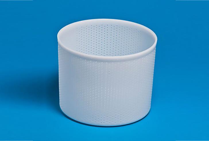 Форма для сыра P00662P с Дв=19,5 см, Дн=15,5 см, В=15,5 см, вес 2-3 кг.