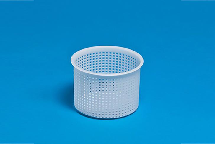 Форма для сыра P00678 с Дв=9,5 см, Дн=9,3 см, В=9,3 см, вес 300-400 гр.