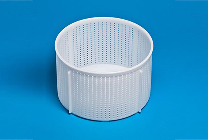 Форма для сыра P00754 с Дв=25,5 см, Дн=25 см, В=16 см, вес 4-5 кг.