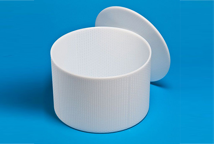 Форма для сыра P00776 с Дв=30,5 см, Дн=29,5 см, В=20 см, вес 5-6 кг.