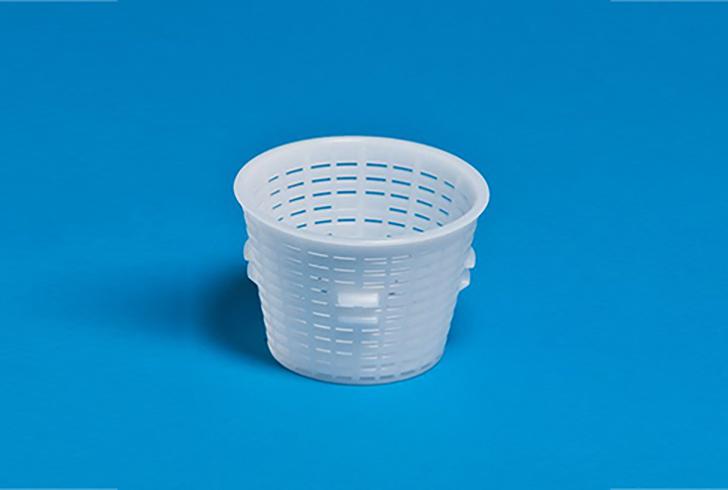 Форма для сыра P00807 с Дв=8,4 см, Дн=6 см, В=6,2 см, вес 200 гр.