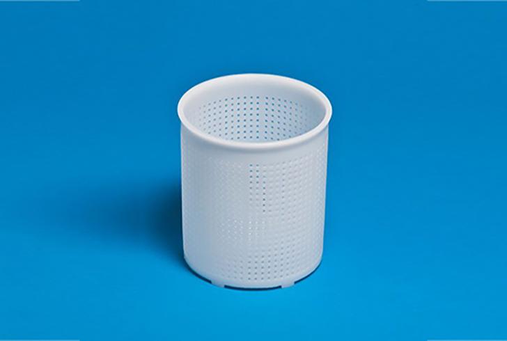 Форма для сыра P29310 с Дв=12 см, Дн=11,4 см, В=13,5 см, вес 800 гр.