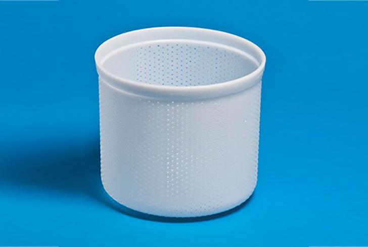 Форма для сыра P00635 с Дв=17 см, Дн=16,5 см, В=17 см, вес 2200 гр.