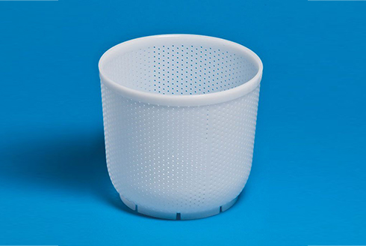 Форма для сыра P00636N с Дв=18 см, Дн=14,5 см, В=16 см, вес 1500 гр.