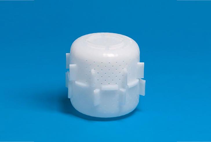 Форма для сыра P00748 с Дв=12 см, Дн=9 см, В=6,5 см, вес 300-400 гр.