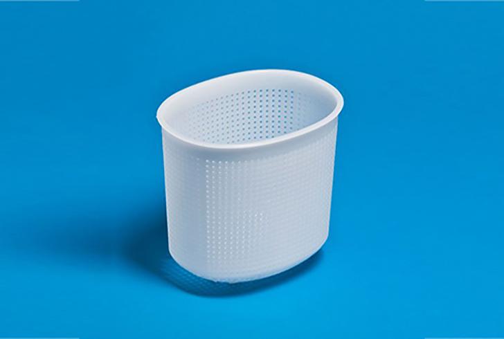 Форма для сыра P00811 с Дв=16 см, Дн=11 см, В=15 см, вес 800-1000 гр.