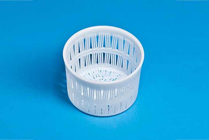 Форма для сыра P00034 с Дн=13, с Дв=14,5, В=14,5 см, вес по сыру 800 гр.