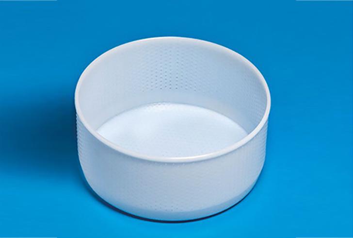 Форма для сыра P00608 с Дв=21,5 см, Дн=21 см, В=10 см, вес 2800 гр.
