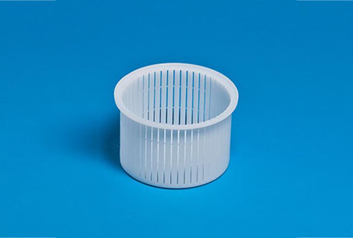 Форма для сыра P00686 с Дв=11,8 см, Дн=11,5 см, В=8 см, вес 200-400 гр.