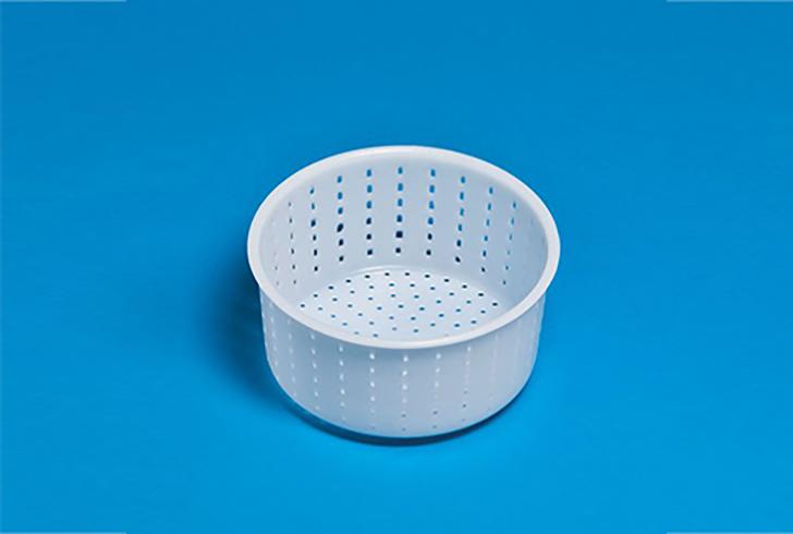 Форма для сыра P45340 с Дв=11,6 см, Дн=10,7 см, В=7 см, вес 700 гр.
