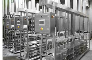 Прессование сыра - автоматический пульт управления